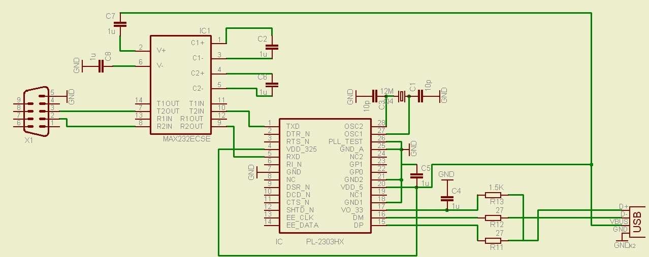 (RS-232) переходник