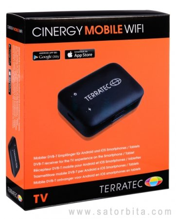 Обзор тюнера TerraTec Cinergy Mobile WiFi
